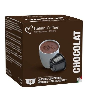 Accueil Italian Coffee - Chocolat pour Dolce Gusto® - 16 Capsules ITCOFCHOCO