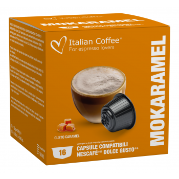 Home Italian Coffee - Mokaramel for Dolce Gusto® ITCOFKARAMEL