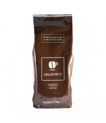 Home Lollo Caffè – Classico coffee beans - 1kg LOLLCLASSG