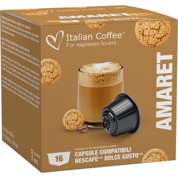 Home Italian Coffee - Amaretto for Dolce Gusto® ITCOFAMART