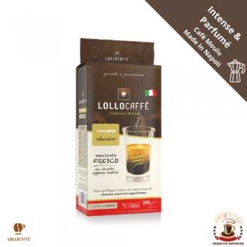 Accueil Café Moulu - Lollo Caffè Classico - 250gr LOLLO-MC