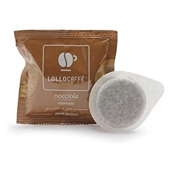 Home Lollo Caffè - Hazlenut Coffee - ESE pods/cialde LOLLONOCESE
