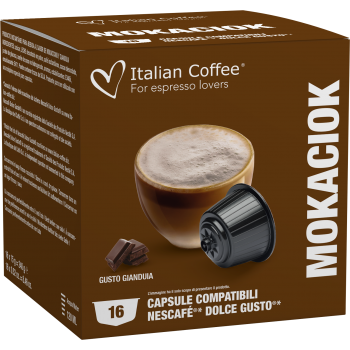 Home Italian Coffee - Gianduia/Mokaciok for Dolce Gusto® ITCGIAND