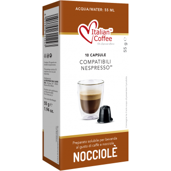 Home Italian Coffee – Nocciola for Nespresso® ITCOFNOC
