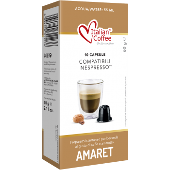 Home Italian Coffee – Amaretto for Nespresso® ITCOFMOK